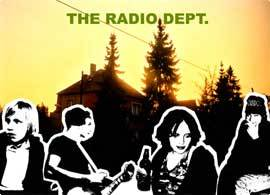 Konsert med The Radio Dept.