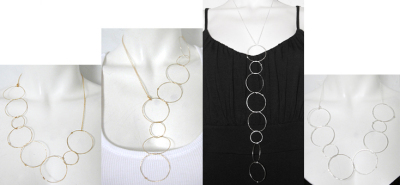 Shan Happy Hoops Halsband, www.girlshop.com