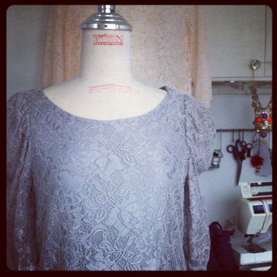 restyling an old H&M dress
