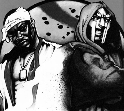 Ghostface and MF Doom