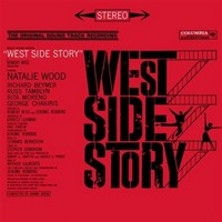 Musikalen West Side Story LP.