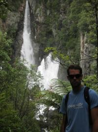Tarawera falls, in the middle of nowhere?