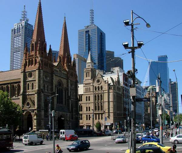 St Pauls at Flinders Street, Melbourne