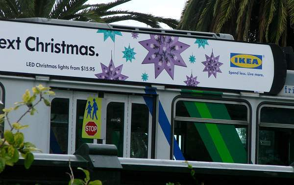 IKEA ad on Melbourne tram