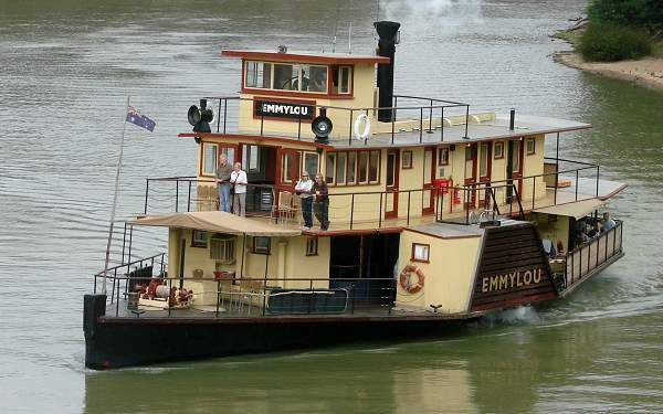 Paddle-steamer Marylou