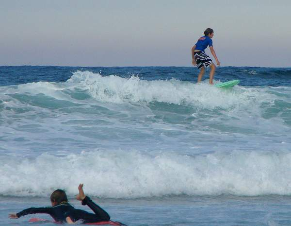 Manly surfers