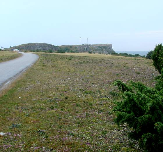 Hoburgen cliff on southernmost Gotland