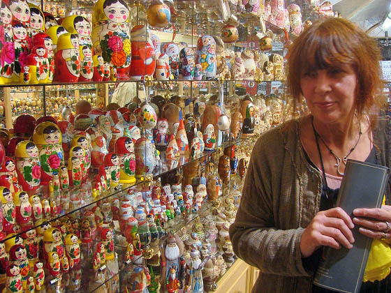 AnnSofi among russian dolls