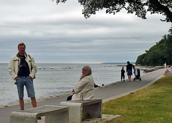 At the sea in Visby