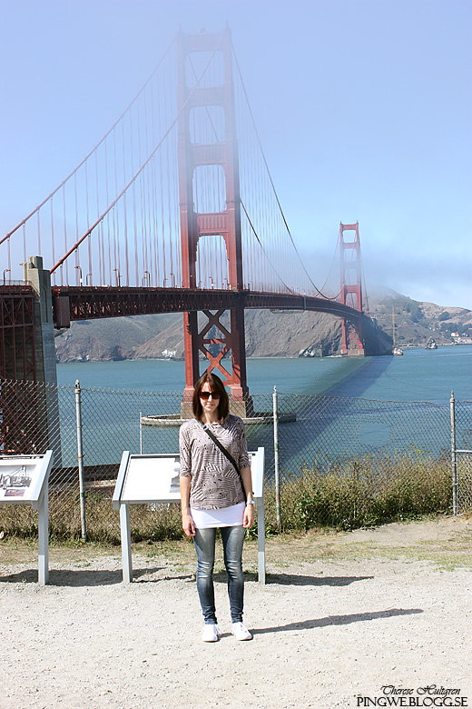 Therese at Golden Gate