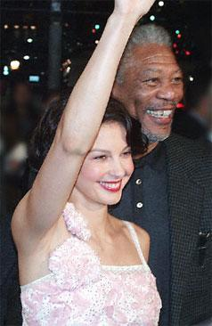 Ashley Judd & Morgan Freeman