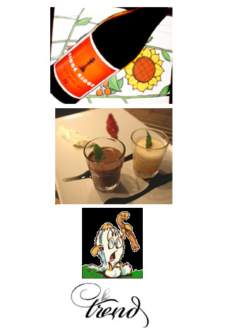 Om Kings Ridge Oregon Pinot Noir 2007, Chokladmousse, Gnuttarna och The Trend.