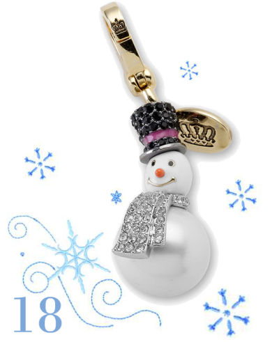 18:e dec Snowman charm - Juicy Couture