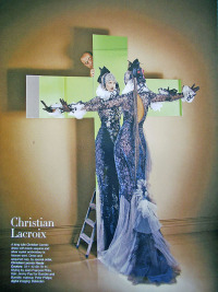 AN HAUTE COUTURE FANTASY med Christian Lacroix