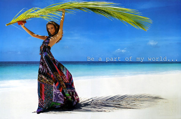 Be a part of my world - Prenumerera på Sophie's Fashion