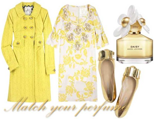 Match your perfume - Marc Jacobs Daisy