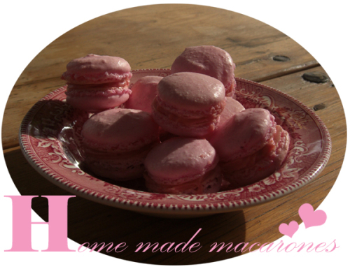 Home made macarones