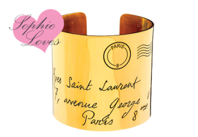 Sophie Loves YSL armband