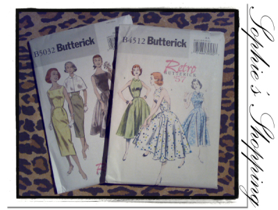 Sophie's Shopping - Butterick mönster