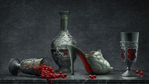 Peter Lippmann for Christian Louboutin