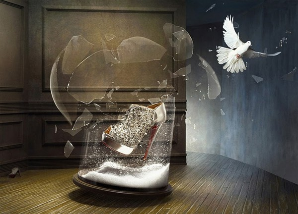 Christian Louboutin's Winter Tales Fall 2010 look book 3