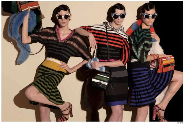 Steven Meisel for Prada Spring 2011 ad Campaign 2