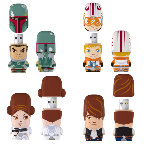 Star Wars mimobot Series Designer USB Flash Drives