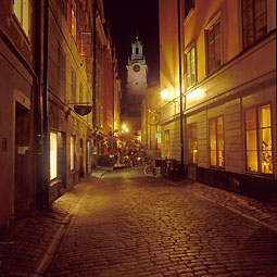 Storkyrkan by night