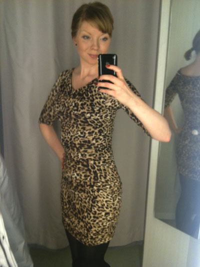Jag i leoparddress