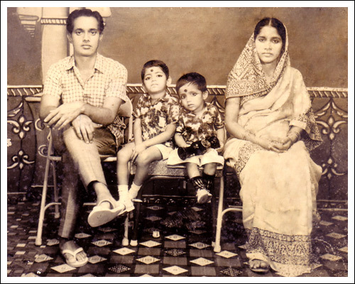 Paresh with family