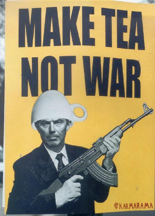 tea not war