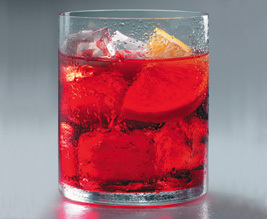 Campari on the rocks