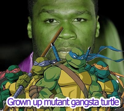 50 cent featuring Turtles