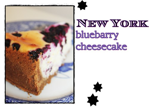 New york bluebarry cheesecake från Leilas recept.