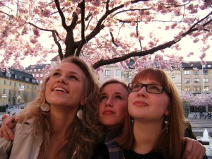 cherry blossom girls