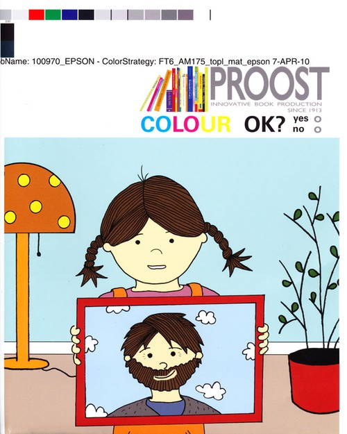 prepress, childrens book, barnbok, färgprov