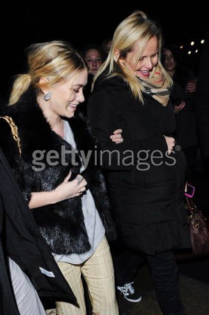 Ashley Olsen med mamma jarnette olsen
