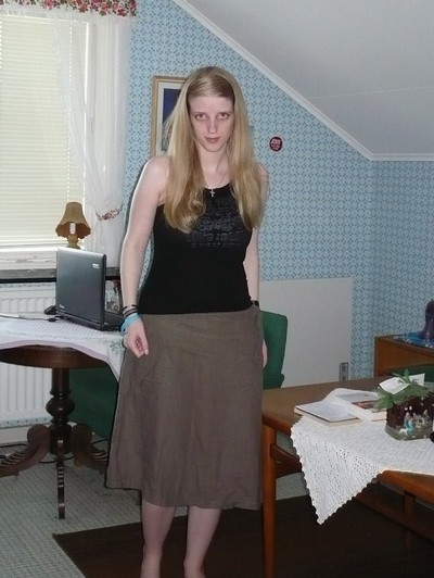 Dagens outfit looked like this! :p