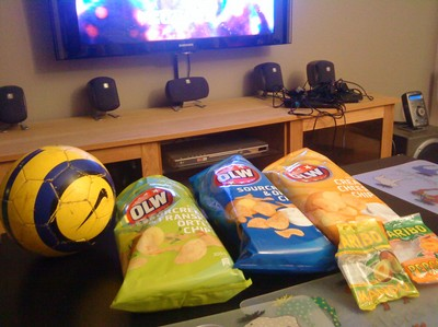 OLW chips, mums!