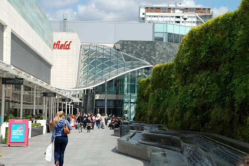 Westfield shoppingcenter London