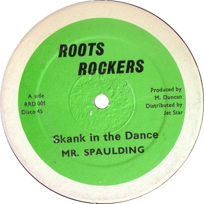 Mr. Spaulding - Skank In The Dance