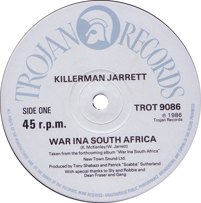 Killerman Jarrett - War In A South Africa