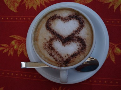 cappuccino for you!