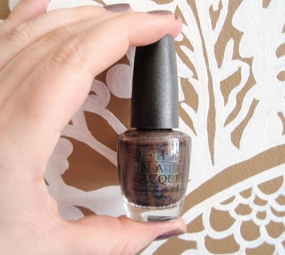 OPI -  My Private Jet,Flaska, Svart Nagellack