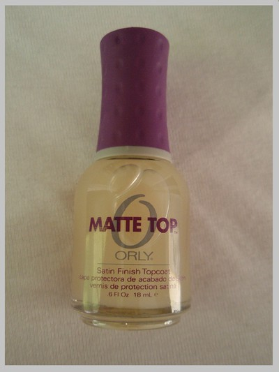 Orly Matte Top
