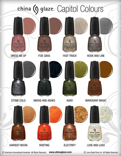 China Glaze - Capitol Colors Collection