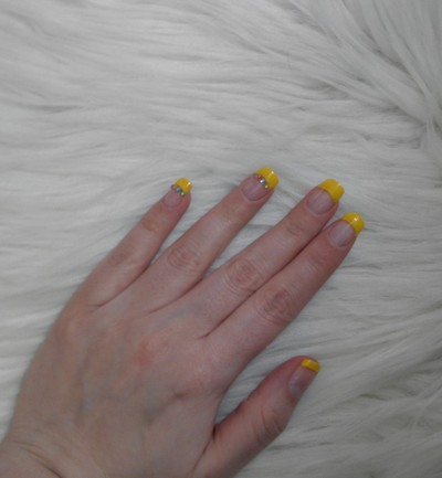 NOTD - 5/5-12 Bling Bling chicken