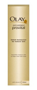 Olay Anti-Wrinkle Provital Tinted Moisturiser for Mature Skin
