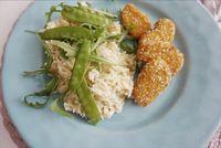 Mascarpone risoni med soya nuggets