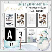Lindas julkalender 2018 - Lucka 17